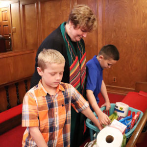 Blessing Boxes with Pastor Cheryl